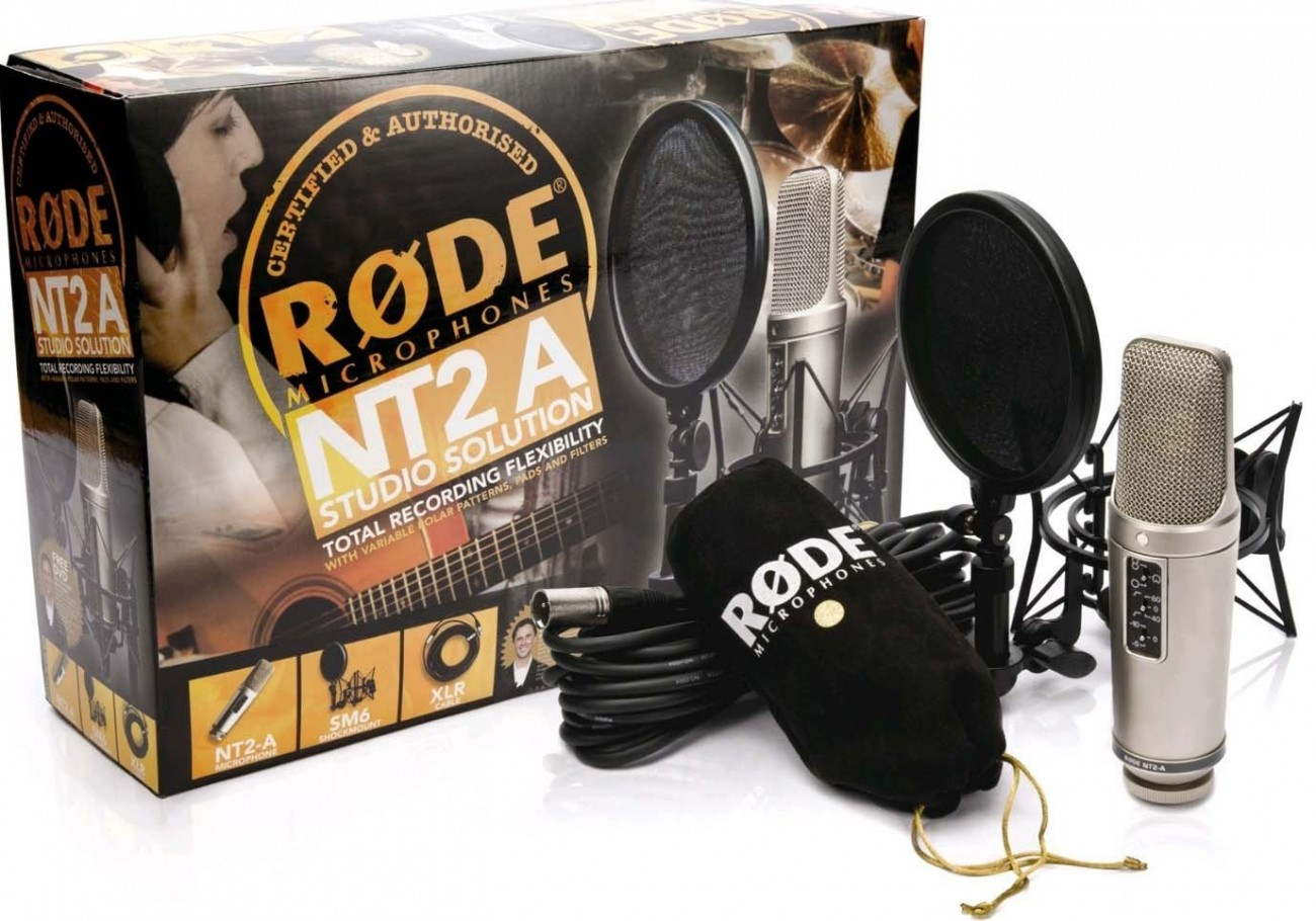 Rode NT2-A Complete Stuido Solution Set