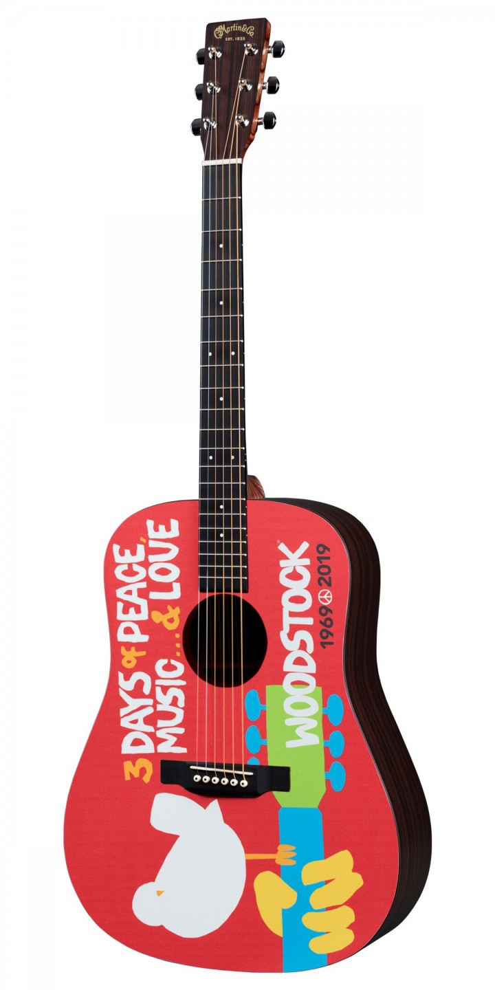 Martin DX Woodstock 50th