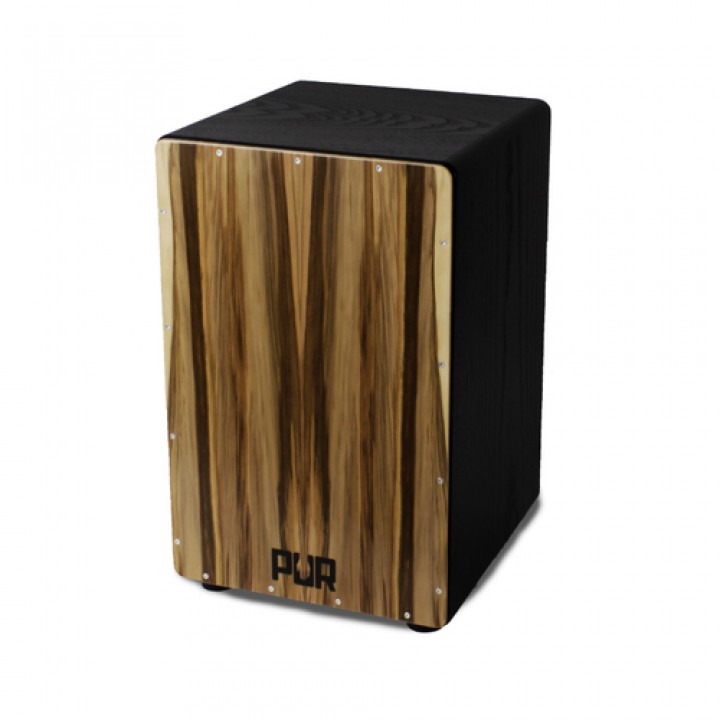 PUR Cajon PC1369 Vision SP Satin Nuss Black Front